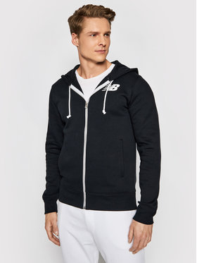 New Balance New Balance Sweatshirt Core MJ83980 Schwarz Regular Fit