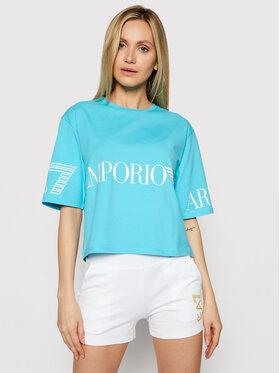EA7 Emporio Armani EA7 Emporio Armani T-shirt 3KTT18 TJ29Z 1517 Blu Regular Fit