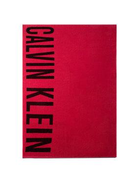 Calvin Klein Swimwear Calvin Klein Swimwear Ręcznik Towel KU0KU00062 Różowy