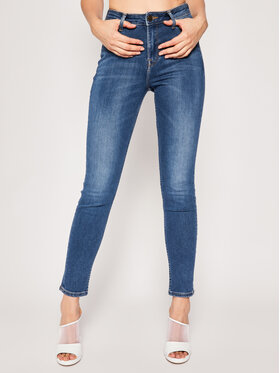 Lee Lee Jeansy Skinny Fit Scarlett High L626DUIW Granatowy Skinny Fit