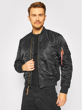Alpha Industries Alpha Industries Kurtka bomber Ma-1 Vf 59 191118 Czarny Slim Fit