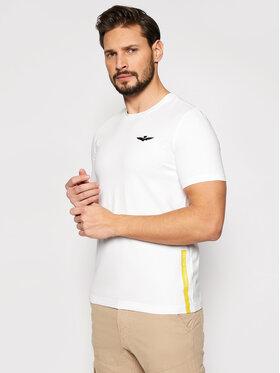 Aeronautica Militare Aeronautica Militare T-shirt 211TS1820J506 Blanc Regular Fit