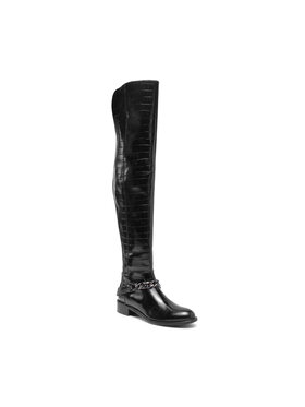 Solo Femme Solo Femme Μπότες πάνω από το γόνατο 33952-04-L16/K43-51-00 Μαύρο