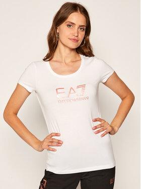 EA7 Emporio Armani EA7 Emporio Armani T-shirt 8NTT63 TJ12Z 188 Blanc Regular Fit