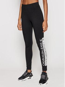 Calvin Klein Jeans Calvin Klein Jeans Leggings J20J215789 Fekete Slim Fit