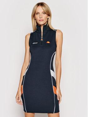 Ellesse Ellesse Úpletové šaty Track SGI11071 Tmavomodrá Slim Fit