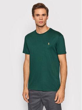 Polo Ralph Lauren Polo Ralph Lauren Тишърт 710740727015 Зелен Custom Slim Fit