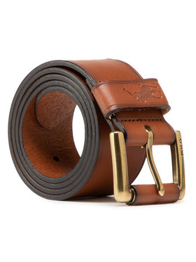 Polo Ralph Lauren Polo Ralph Lauren Pasek Męski Keep Bt-Drs 405820098001 Brązowy