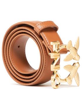 Pinko Pinko Ženski remen Aster Simply Waist Belt PE 21 PLT01 1H20VW Y6XF Smeđa