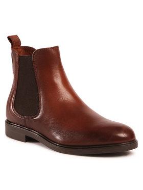 Marc O'Polo Marc O'Polo Kotníková obuv s elastickým prvkem 007 16045001 153 Hnědá