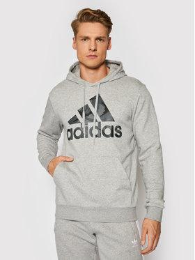 adidas adidas Pulóver Essentials Camouflage GL0020 Szürke Regular Fit