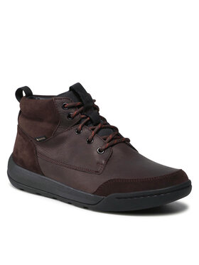 Clarks Clarks Šnurovacia obuv Ashcombe HiGtx GORE-TEX 261520847 Hnedá