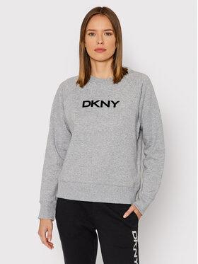 DKNY Sport DKNY Sport Bluza DP1T8276 Szary Regular Fit