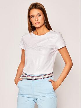 Liu Jo Sport Liu Jo Sport T-Shirt TA0117 J5003 Weiß Regular Fit