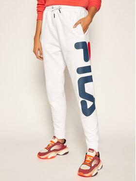 Fila Fila Spodnie dresowe Unisex Classic Pure 681094 Biały Regular Fit
