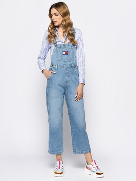 Tommy Jeans Tommy Jeans Гащеризони New Dungaree DW0DW07685 Regular Fit