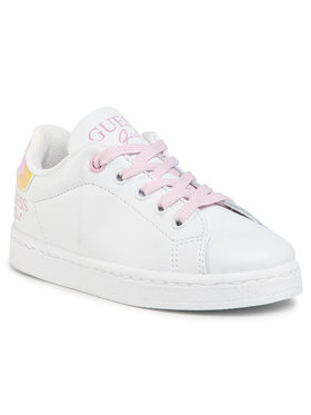 Guess Guess Sneakersy Lucy FI7LUC ELE12 Biały