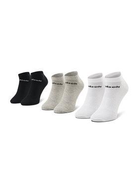 Reebok Reebok Комплект 3 чифта къси чорапи унисекс Act Core Low Cut Sock 3P GH8229 Бял