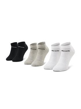 Reebok Reebok Lot de 3 paires de chaussettes basses unisexe Act Core Low Cut Sock 3P GH8229 Blanc
