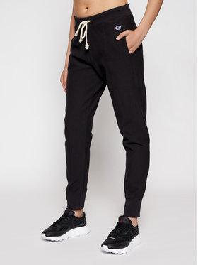 Champion Champion Pantaloni trening Seam Detail 112696 Negru Slim Fit