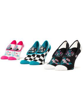 Vans Vans Σετ 3 ζευγάρια κάλτσες σοσόνια γυναικεία Beauty Floral Canoodle VN0A4S7V4481 Λευκό