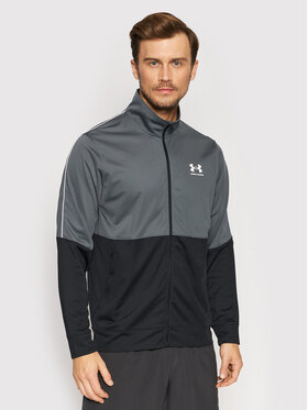 Under Armour Under Armour Bluza Ua Pique 1366202 Szary Fitted Fit