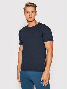 Napapijri Napapijri T-Shirt Salis C Ss 1 NP0A4FRP Granatowy Regular Fit