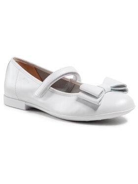 Geox Geox Κλειστά παπούτσια J Plie' B J0255B 00044 C1000 D Λευκό