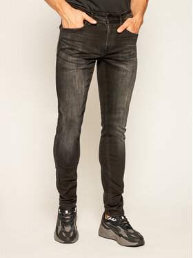 Pepe Jeans Pepe Jeans jeansy_skinny_fit Finsbury PM200338 Juoda Skinny Fit