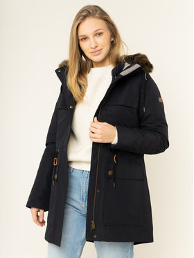 Roxy Roxy Parka Amy 3in1 Longline ERJJK03283 Blu scuro Tailored Fit
