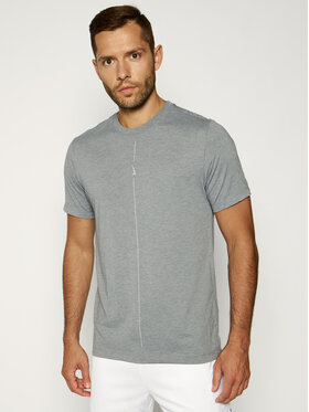NIKE NIKE T-shirt technique Yoga Dri-FIT CT6476 Gris Standard Fit