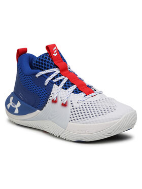 Under Armour Under Armour Обувки Ua Embiid 1 3023086-107 Бял