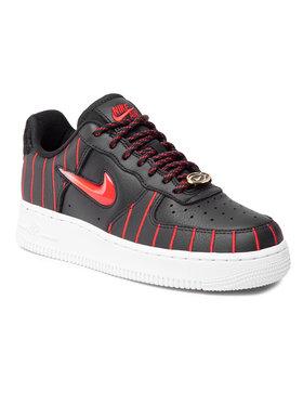 Nike Nike Обувки Air Force 1 Jewel Qs CU6359 001 Черен