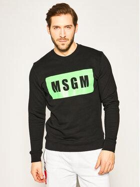 MSGM MSGM Mikina 2840MM68CF 207099 Černá Regular Fit