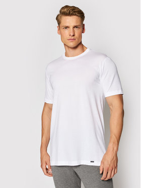 Hanro Hanro T-Shirt Night & Day 5430 Biały Regular Fit