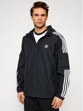 adidas adidas Ветровка adicolor Classics 3-Stripes GN3475 Черен Regular Fit