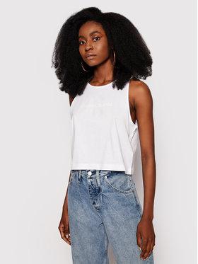Calvin Klein Jeans Calvin Klein Jeans Top J20J215622 Biela Regular Fit