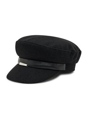 Calvin Klein Calvin Klein Kaszkiet Focused Baker Hat Metal Plaque K60K608515 Czarny