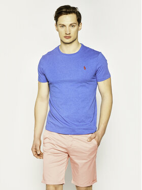 Polo Ralph Lauren Polo Ralph Lauren T-Shirt 710671438 Dunkelblau Custom Slim Fit
