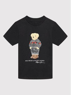 Polo Ralph Lauren Polo Ralph Lauren T-shirt Classics 322853790002 Crna Regular Fit