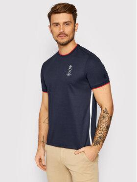 North Sails North Sails T-Shirt PRADA Winton 452014 Dunkelblau Regular Fit