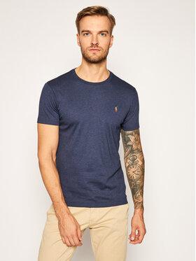 Polo Ralph Lauren Polo Ralph Lauren T-Shirt Ssl 710740727031 Dunkelblau Slim Fit