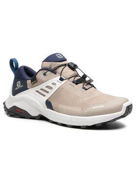 Salomon Salomon Trekingová obuv X Raise Gtx GORE-TEX 409739 27 M0 Béžová