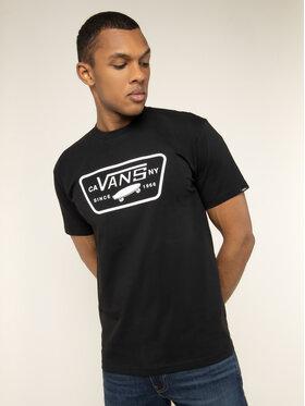 Vans Vans T-shirt Full Patch VN000QN8Y281 Noir Classic Fit