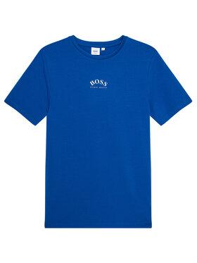 Boss Boss Marškinėliai J25G99 S Tamsiai mėlyna Slim Fit