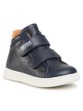 Boss Boss Šnurovacia obuv J09136 Tmavomodrá
