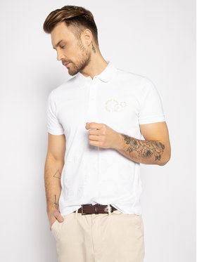Boss Boss Polokošile Paddy 5 50426052 Bílá Regular Fit