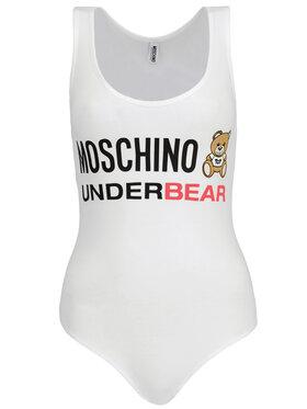 Moschino Underwear & Swim Moschino Underwear & Swim Боди A6006 9003 Бял Slim Fit