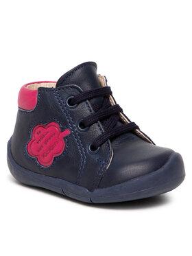 Kickers Kickers Auliniai batai Waouk 858381-10 Tamsiai mėlyna