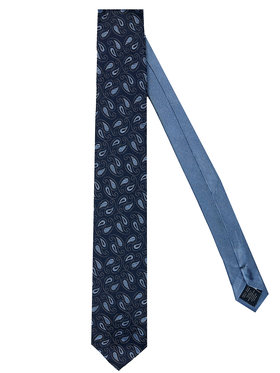 Tommy Hilfiger Tailored Tommy Hilfiger Tailored Kravata Paisley TT0TT07642 Tmavomodrá